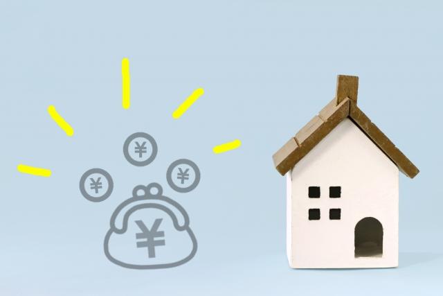 家でお金を貯めるイメージ画像