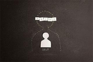 自我が強い人のイメージ画像